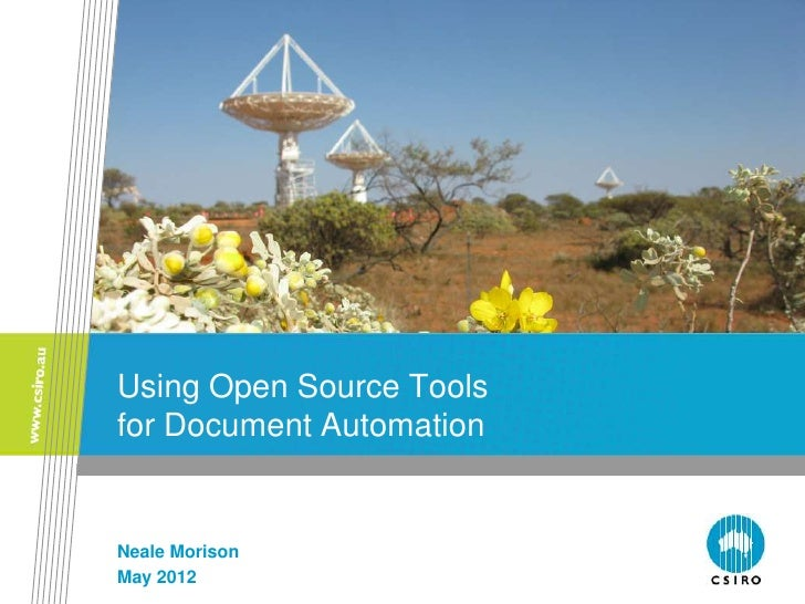 Open Source Automated Documentation in a Development Environment