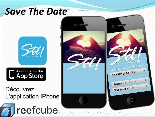 DécouvrezLapplication IPhoneSave The Date