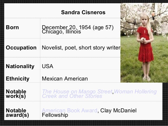 sandra cisneros essay only daughter