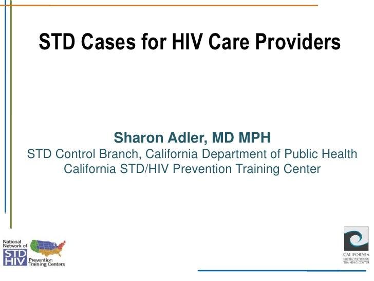 STD Cases for HIV Care Providers Adler