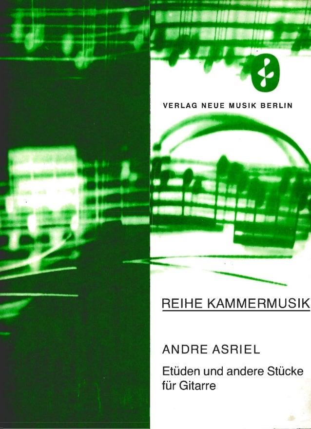 Stüden and andere stücke für gitarre