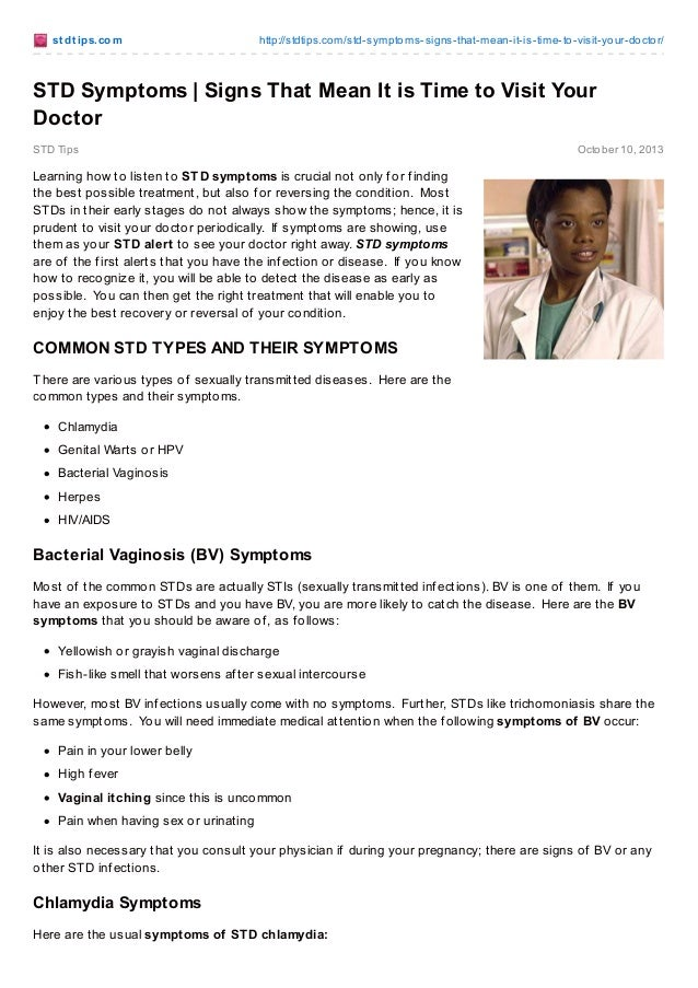 Stdtips.com std symptoms-_signs_that_mean_it_is_time_to_visit_your_doctor