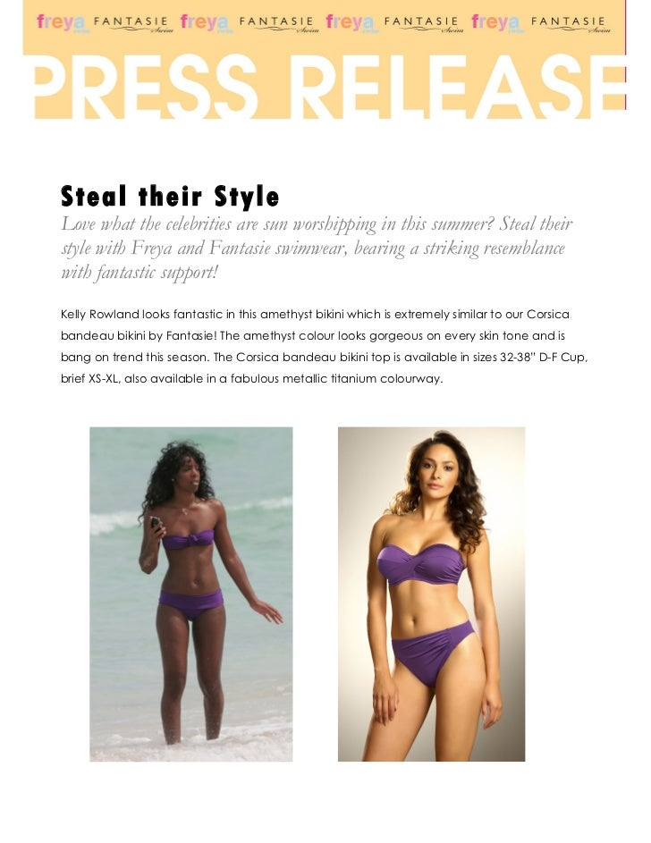 Steal their StyleLove what the celebrities are sun worshipping in this summer? Steal theirstyle with Freya and Fantasie sw...
