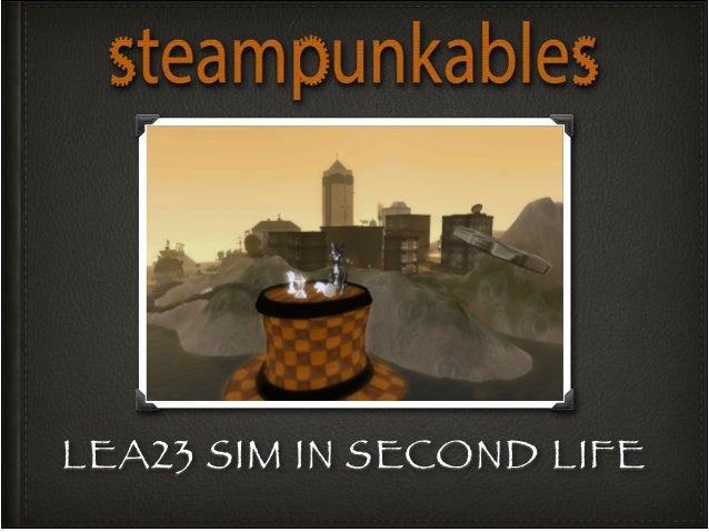 Steampunkables Environment & Characters