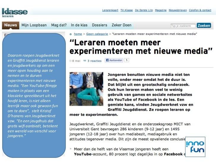 Daarom roepen Jeugdwerknet en Graffi3 Jeugddienst leraren en jeugdwerkers op om een meer open ho...