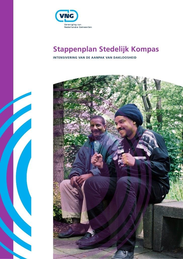 Stappenplan Stedelijk Kompas IntenSIverIng van de aanpaK van daKlooSheId