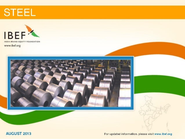 India :Steel Sector Report_August 2013