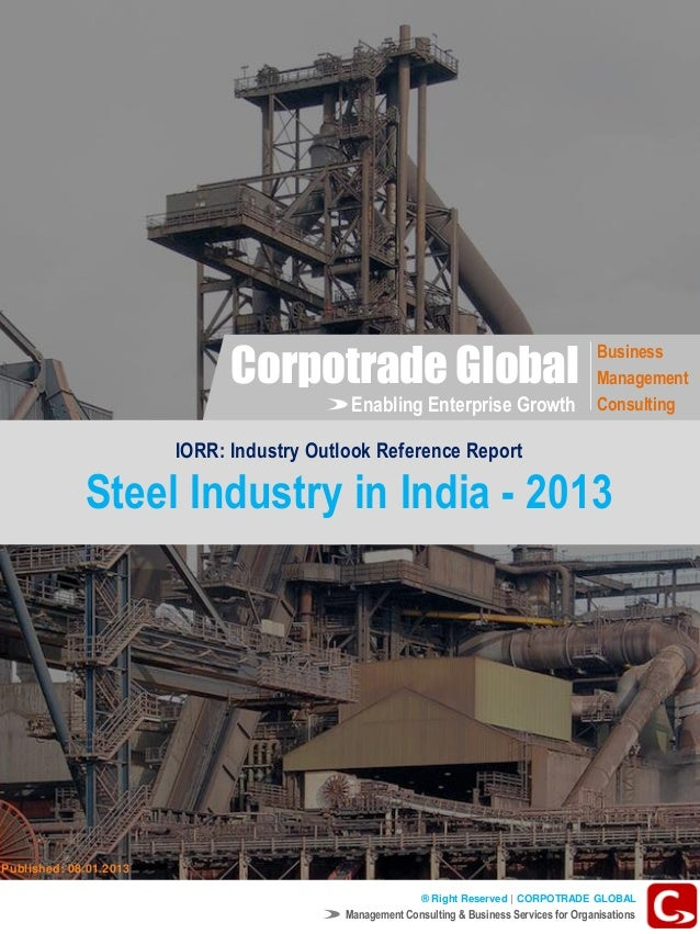 AN OVERVIEW OF STEEL SECTOR