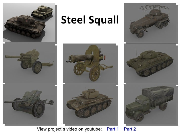 Steel Squall View project`s video on youtube:  Part 1   Part 2