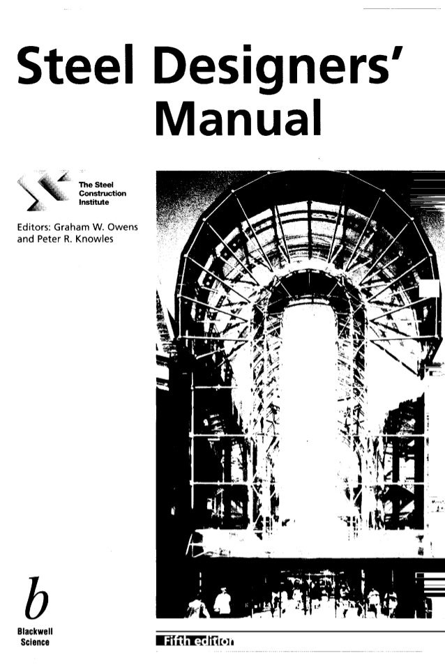Steel designers manual 5th edition