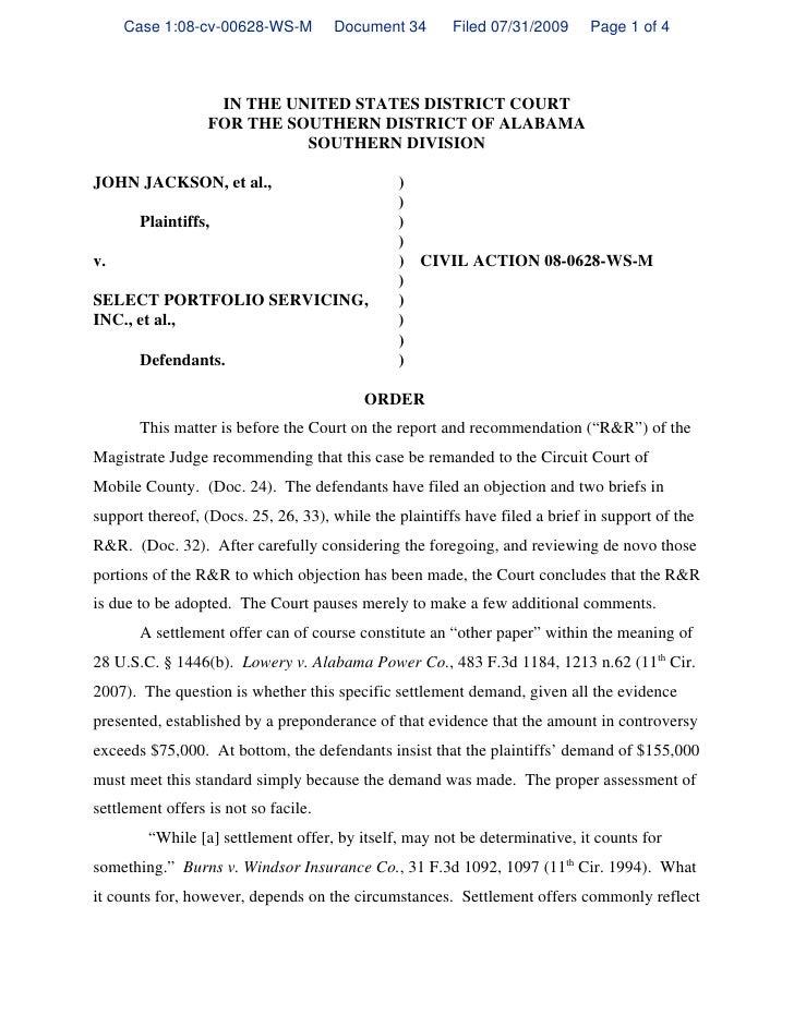 Steele Remand Order 11th Circuit