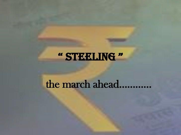 Steeling