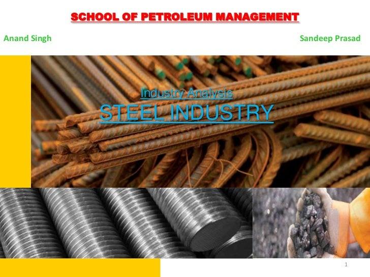 Industry Analysis-Steel Industry of India