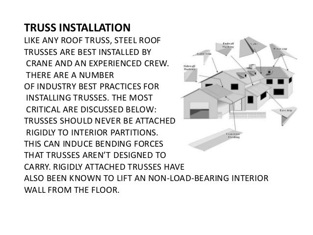 Install Roof Trusses Truss Installation Like Any