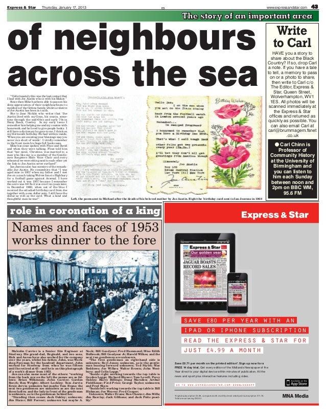 Express & Star              Thursday, January 17, 2013                                                               ES   ...