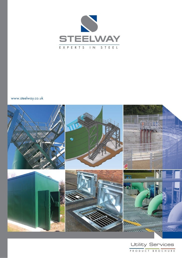 Steelway Utility Services Product brochure