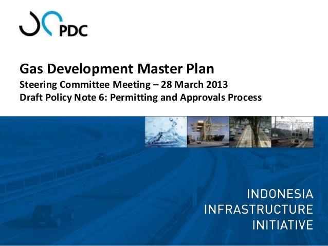 Steering committee draft policy note 6