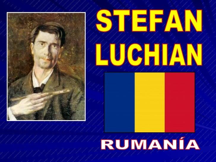 STEFAN LUCHIAN RUMANÍA