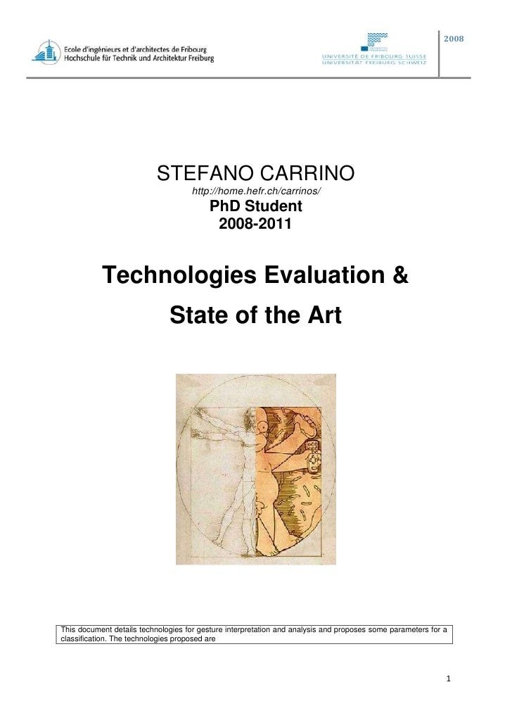 STEFANO CARRINO<br />http://home.hefr.ch/carrinos/<br />PhD Student<br />2008-2011<br />Technologies Evaluation &<br />Sta...