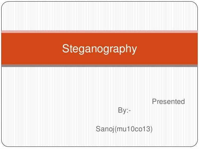 Steganography basic
