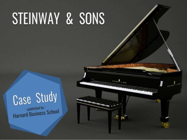steinway case analysis This article describes a design analysis of the frame from a stuart and sons  grand  grand piano, is motivated by the notion that there is life beyond steinway.