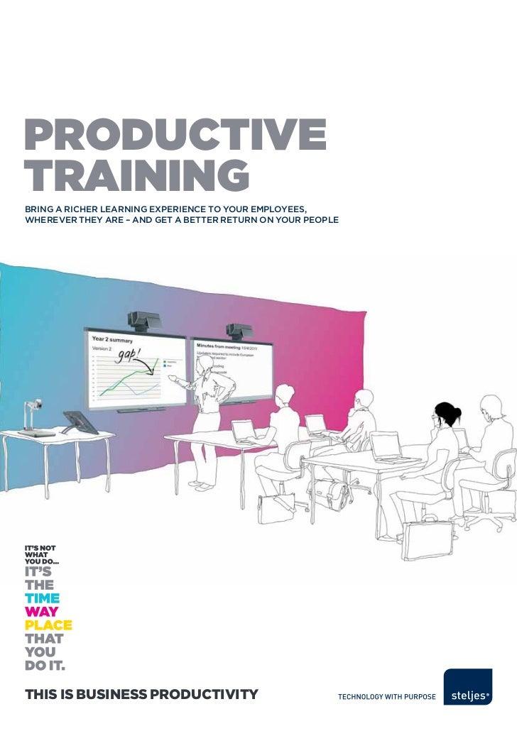 Steljes Productive Training Brochure