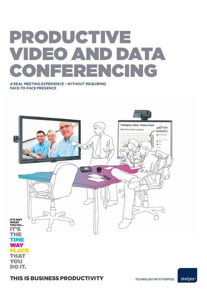 productivevideo and dataconferencingA reAl meeting experience – without requiringfAce-to-fAce presenceThis is Business Pro...
