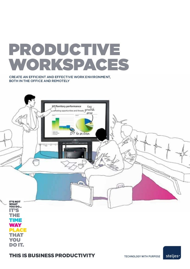 ProductiveWorksPacesCreate an effiCient and effeCtive work environment,both in the offiCe and remotelyThis is Business Pro...