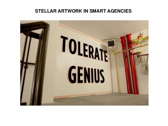 STELLAR ARTWORK IN SMART AGENCIES