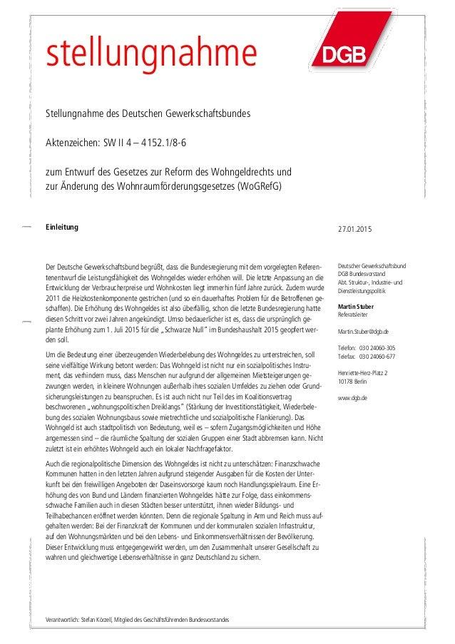 Deutscher Gewerkschaftsbund DGB Bundesvorstand Abt. Struktur-, Industrie- und Dienstleistungspolitik Martin Stuber Referat...