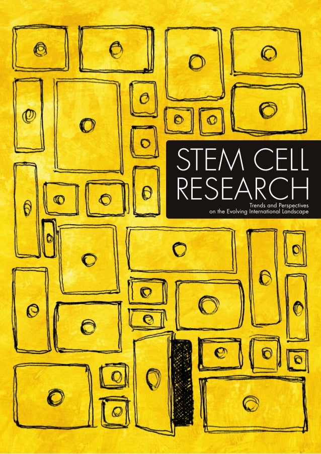 Stem Cell Research: Trends and Perspectives on the Evolving International Landscape