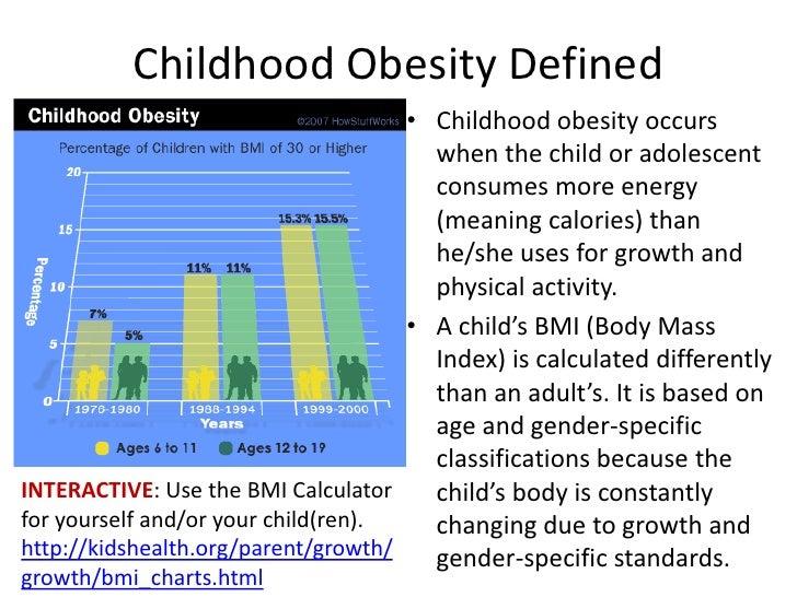 Image result for childhood obesity definition