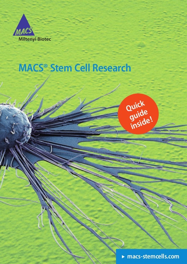 Mesenchymal stem cells Driving your MSC research Human samples Mouse samples Phenotyping of expanded MSCs Human •	 	MSC	Ph...