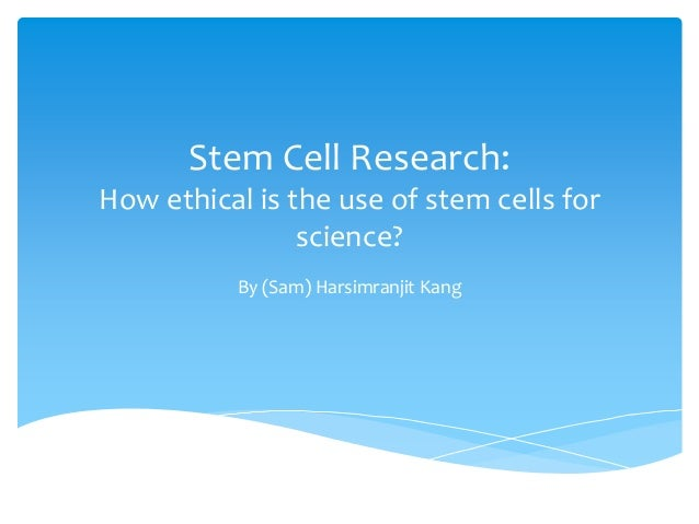 stem cell research an ethical interpretation Rapid progress in biotechnology has introduced a host of pressing ethical and policy issues pertaining to stem cell research in this review, we provide an overview of the most significant issues with which the stem cell research community should be familiar.