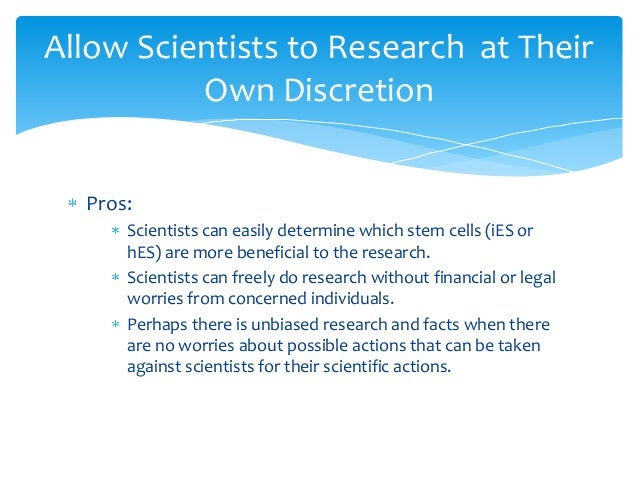 Write my stem cell research paper