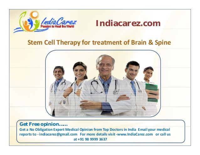 Stem Cell Therapy Hospital in India     Stem cell Therapy