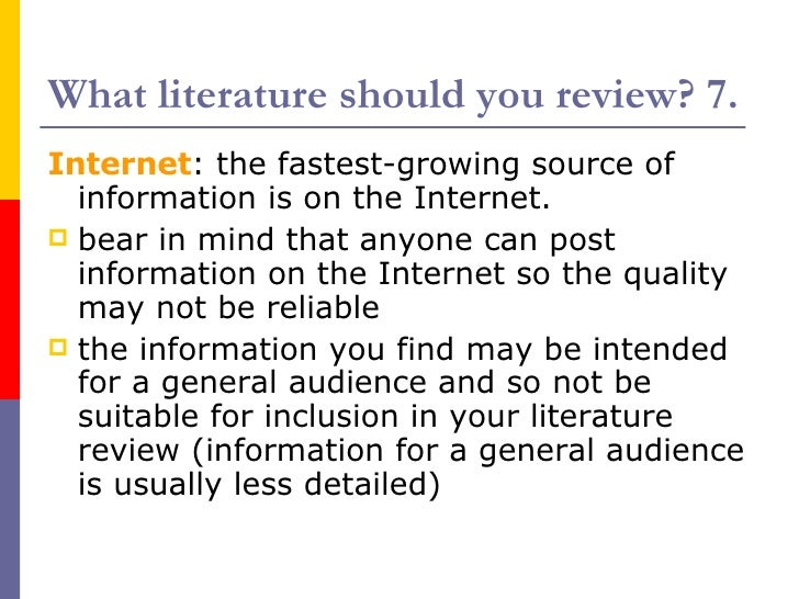 literature review on internet users There is evidence that a substantial number of internet users form new social ties as a result of their online activities appendix a: extended literature review.