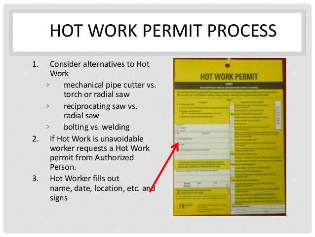 Hot Work Permit With Carbon Copy Pictures To Pin On