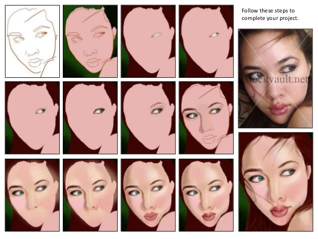 The Steps for Creating a Digital Portrait Painting