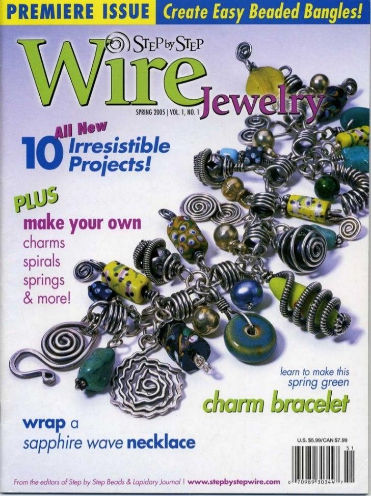 Step by step_wire_jewelry_vol.1_no1