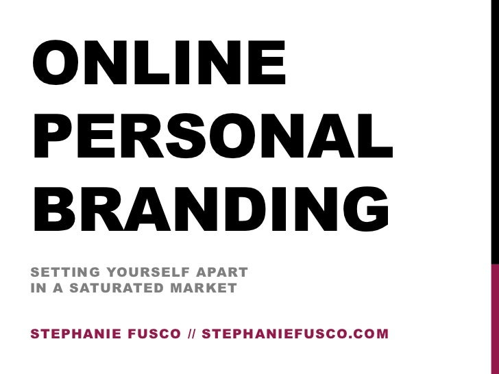 Stephanie Fusco: How to create your online personal brand