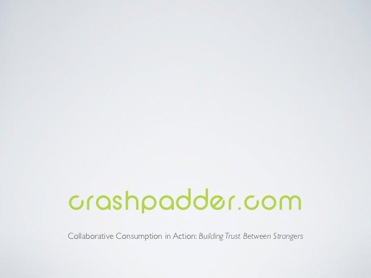 Crashpadder.com - Stephen Rapoport