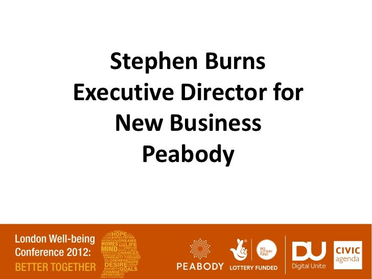 Stephen BurnsExecutive Director for   New Business      Peabody