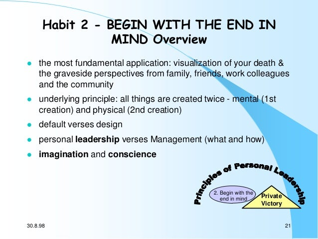 Resume 7 habit of highly effective people