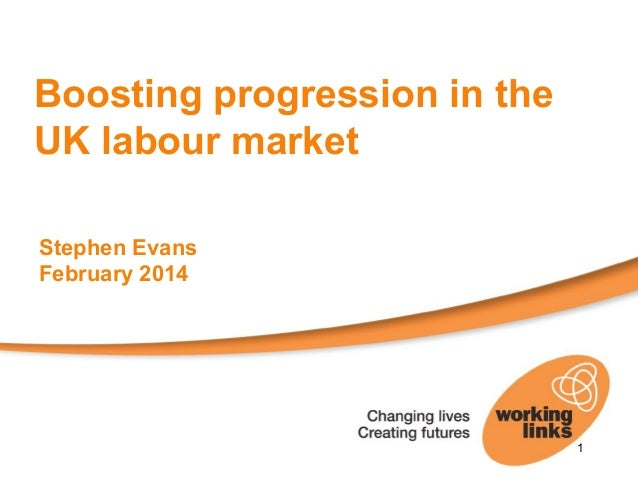 Stephen Evans, Working Links - In-work Progression (28 Feb 2014)