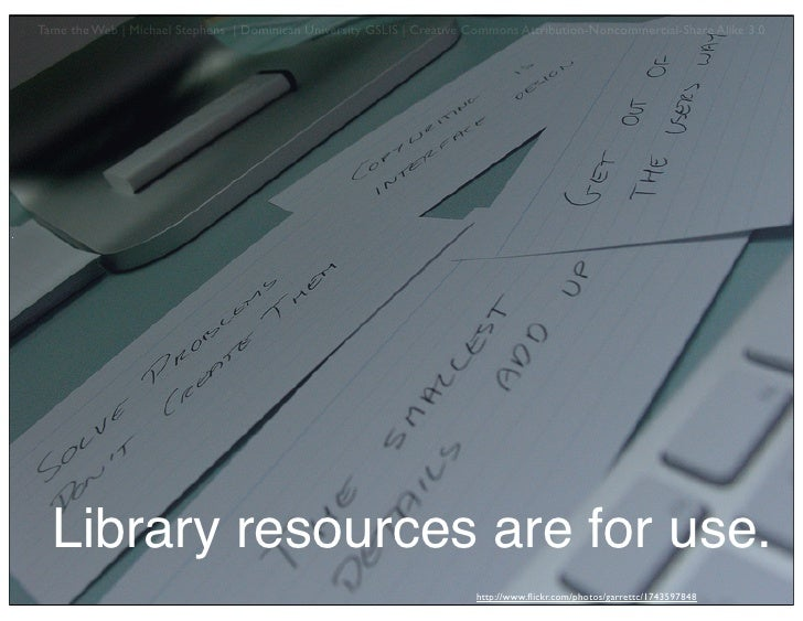 The Hyperlinked Community Library
