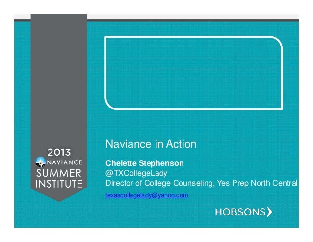 Naviance in Action