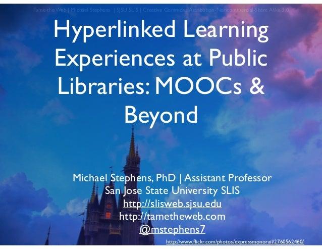 Hyperlinked Learning - Public Library Association 2014