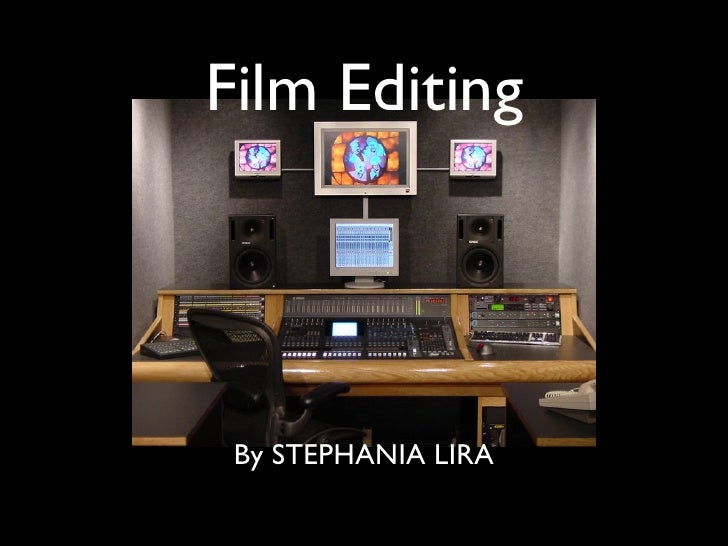 Film editing software 2013