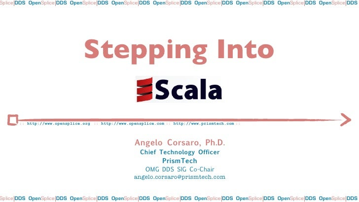 Stepping into Scala
